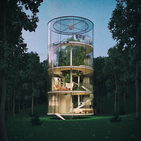 Nhìn là muốn đến ở ngay những ngôi nhà trên cây đẹp ngoạn mục này! - 10