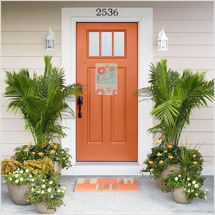 Lựa chọn cây cảnh trang trí trước cửa nhà
