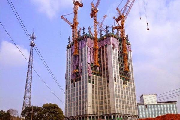 Kinh ngạc những tòa nhà xây