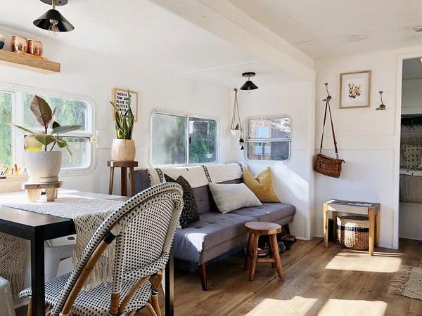 Bất ngờ với căn nhà chỉ 19m² giá 56 triệu đồng của vợ chồng trẻ, 5 người ở thoải mái - 5