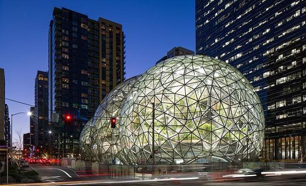 """Đi làm như đi... vào rừng, văn phòng mới của Amazon khiến nhân viên quá """"choáng váng"""" - 14"""