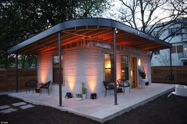 Dân tình phát sốt với căn nhà 60m² giá rẻ bất ngờ, xây chỉ trong 24h bằng cách... in 3D - 1
