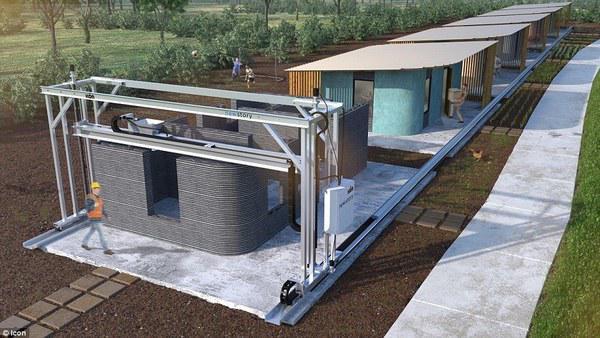Dân tình phát sốt với căn nhà 60m² giá rẻ bất ngờ, xây chỉ trong 24h bằng cách... in 3D - 8