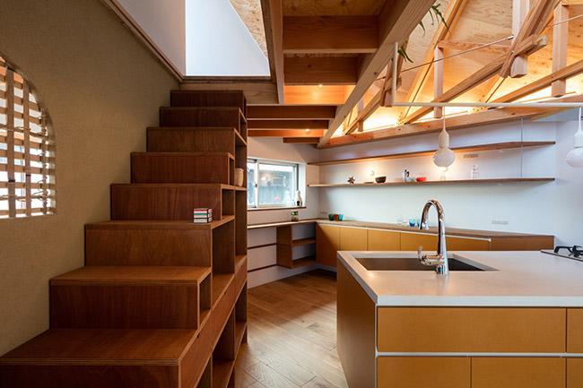 Nhà 2 tầng gây xôn xao giới kiến trúc vì thiết kế... lạ - 12