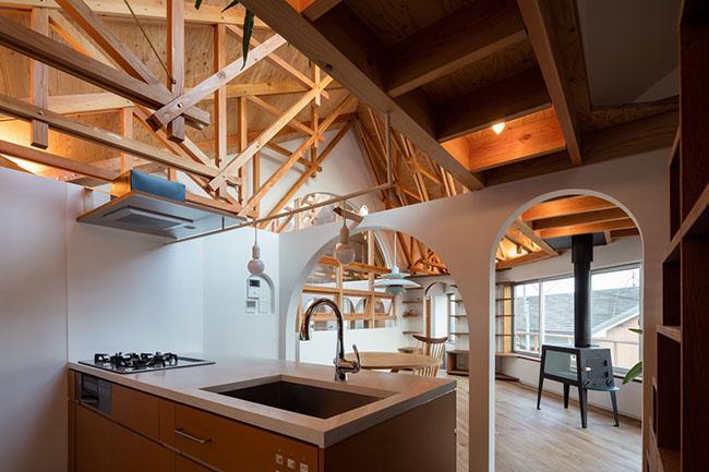 Nhà 2 tầng gây xôn xao giới kiến trúc vì thiết kế... lạ - 13