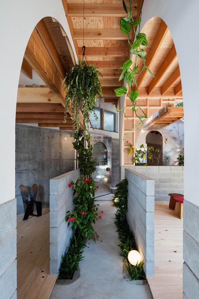 Nhà 2 tầng gây xôn xao giới kiến trúc vì thiết kế... lạ - 4