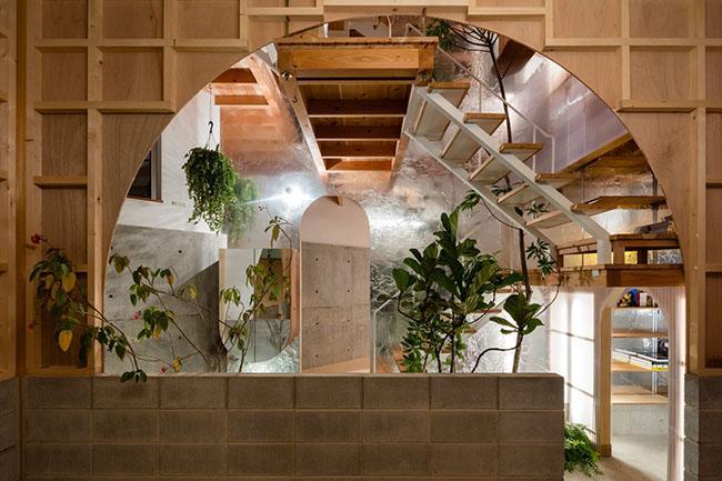 Nhà 2 tầng gây xôn xao giới kiến trúc vì thiết kế... lạ - 9