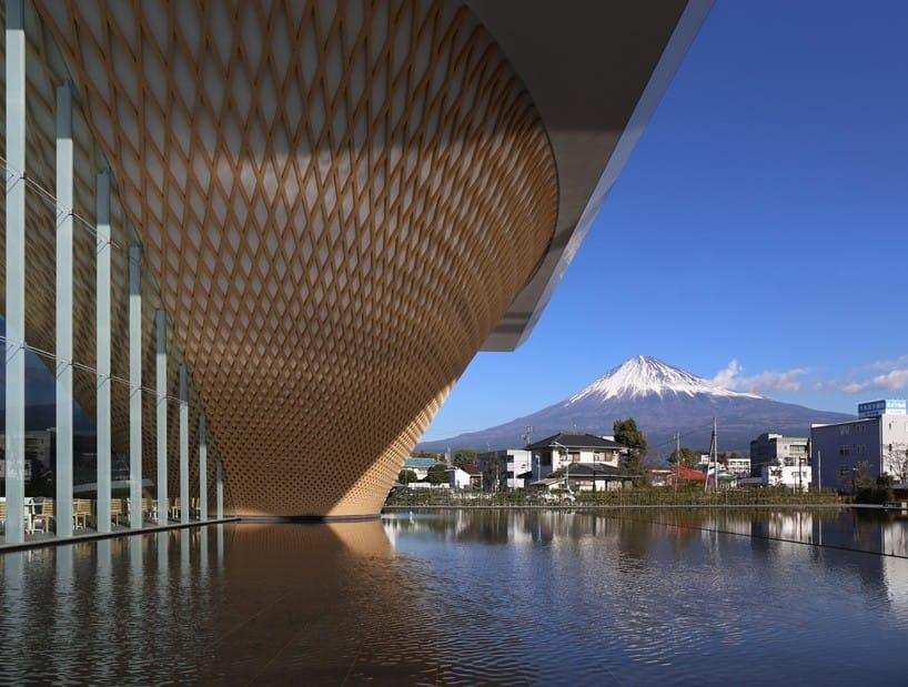 Ngộ nghĩnh trung tâm di sản hình phễu ở Nhật Bản