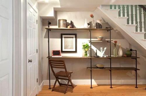 Đừng bỏ trống gầm cầu thang vì biết cách tận dụng, nhà chật đến mấy cũng sẽ rộng gấp đôi - 3
