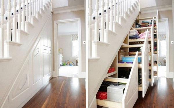 Đừng bỏ trống gầm cầu thang vì biết cách tận dụng, nhà chật đến mấy cũng sẽ rộng gấp đôi - 4