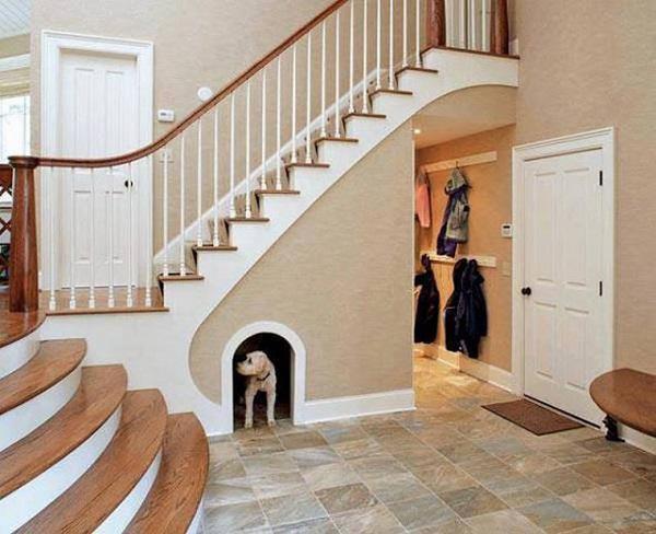 Đừng bỏ trống gầm cầu thang vì biết cách tận dụng, nhà chật đến mấy cũng sẽ rộng gấp đôi - 9