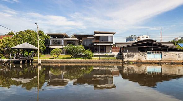Biệt thự cho hai thế hệ được khen ngợi với kiến trúc đẹp như resort - 1