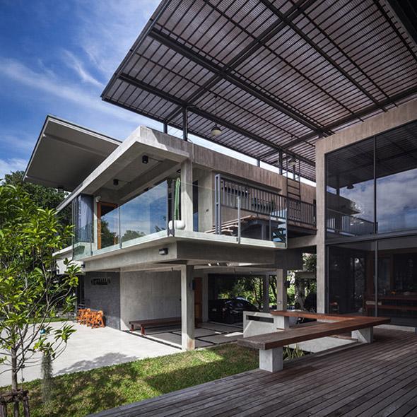 Biệt thự cho hai thế hệ được khen ngợi với kiến trúc đẹp như resort - 9
