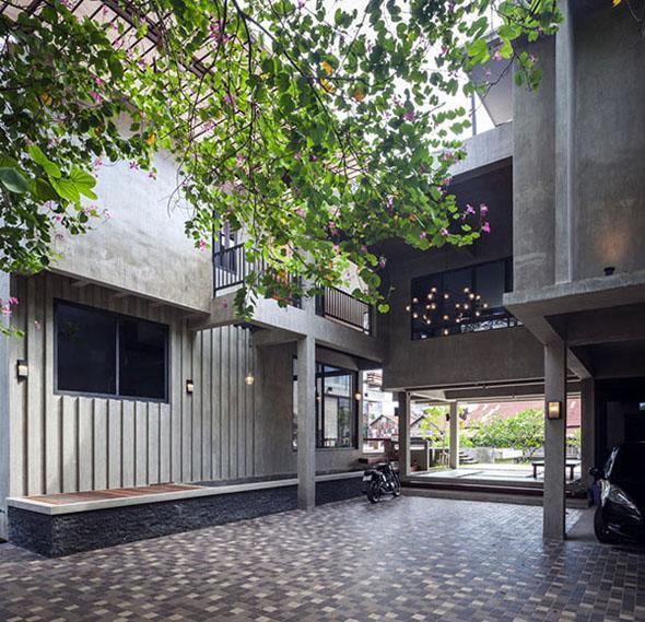 Biệt thự cho hai thế hệ được khen ngợi với kiến trúc đẹp như resort - 11