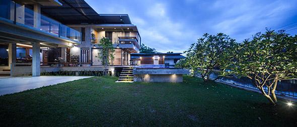 Biệt thự cho hai thế hệ được khen ngợi với kiến trúc đẹp như resort - 4