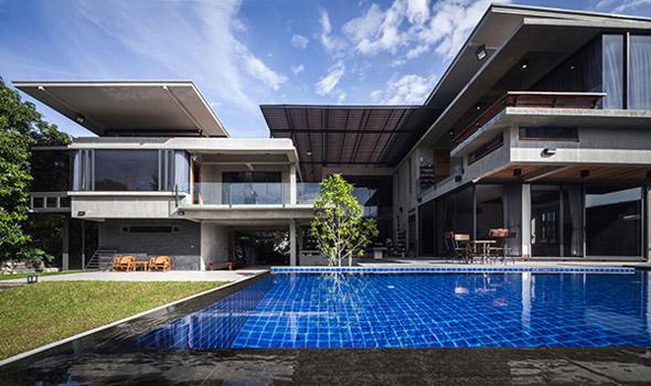 Biệt thự cho hai thế hệ được khen ngợi với kiến trúc đẹp như resort - 5