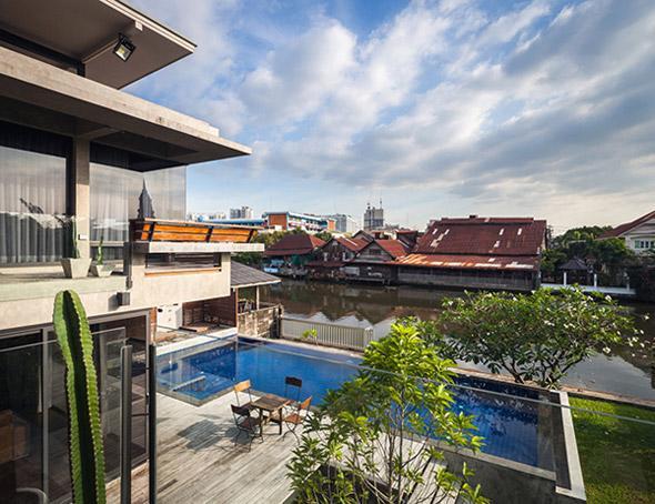 Biệt thự cho hai thế hệ được khen ngợi với kiến trúc đẹp như resort - 7
