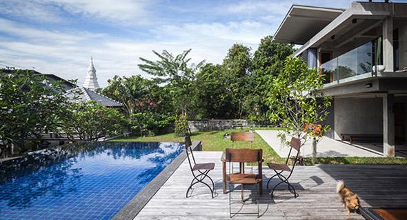 Biệt thự cho hai thế hệ được khen ngợi với kiến trúc đẹp như resort - 8
