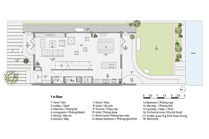 Căn nhà Long Biên được báo Mỹ khen hết lời nhờ thiết kế quá táo bạo - 27