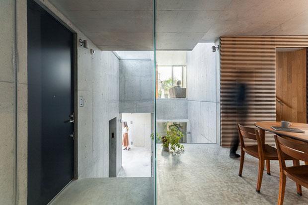 Làm nhà giống một cái cây, kiến trúc sư tạo ra