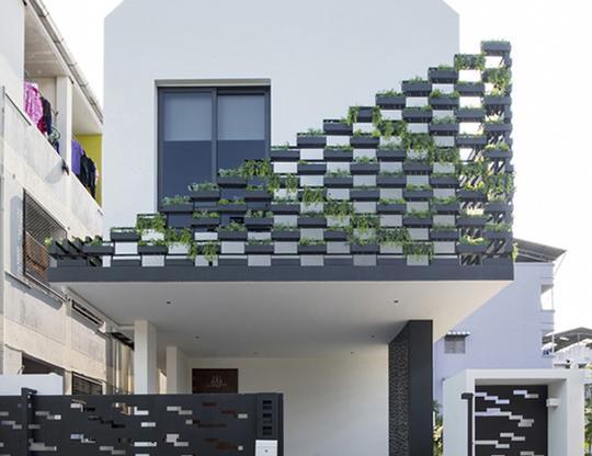 """Căn nhà 2 tầng nằm sâu trong ngõ nhỏ nhưng vẫn """"nổi bần bật"""" nhờ thiết kế khác lạ - 15"""
