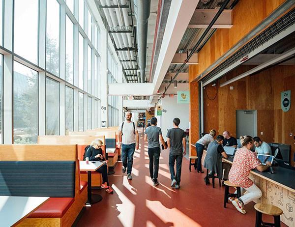 Văn phòng mới của Facebook được khen hết lời vì quá rộng và đẹp - 3