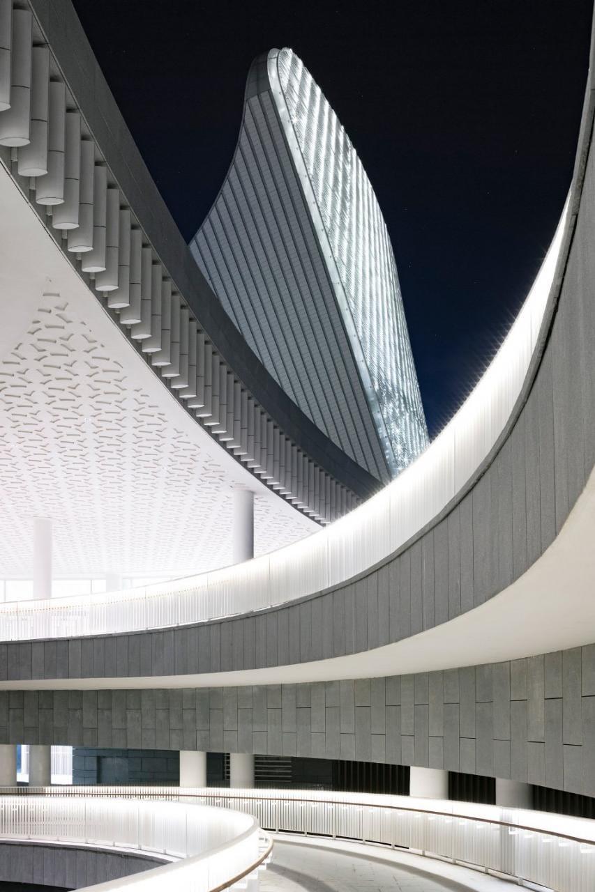 PES-architects fuzhou strait culture art centre china designboom