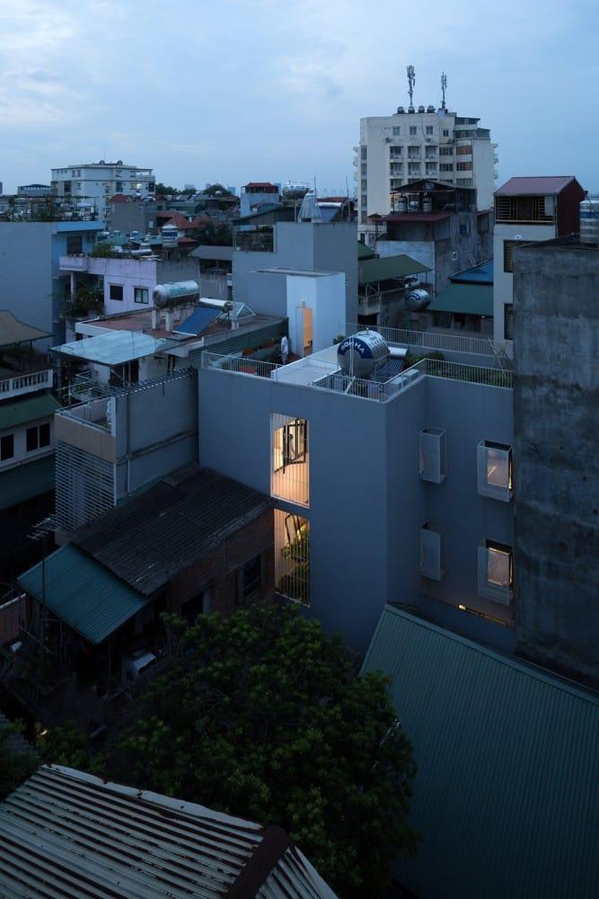 Ngôi nhà của bình yên và xanh mát gây ấn tượng trên báo Mỹ