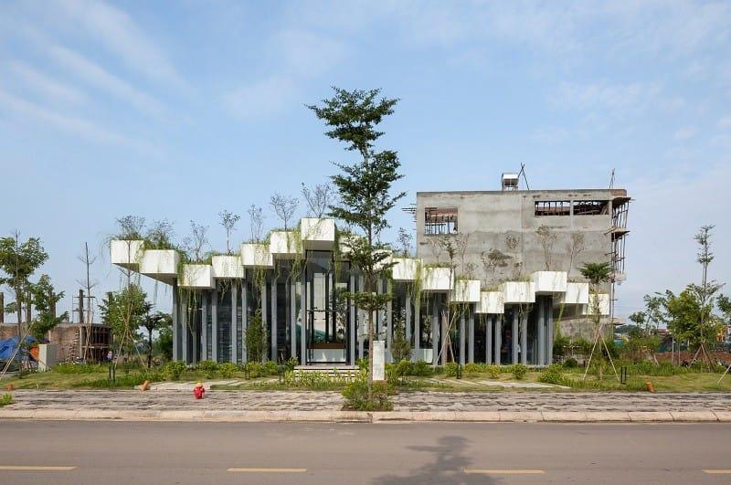 Nhà triển lãm giữa vùng núi Bắc Giang hiện diện trên báo Mỹ