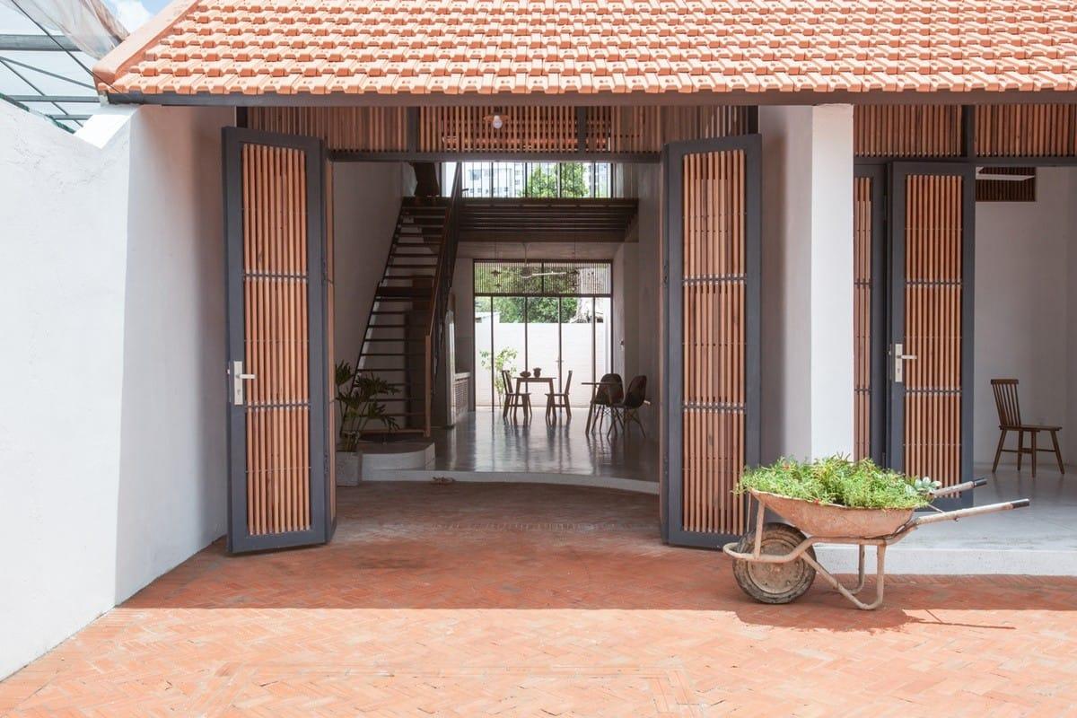 Biệt thự của nắng gió Sài Gòn | K59atelier