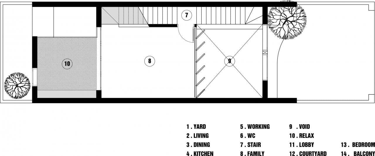 5×12 House : Tìm tòi mới cho thiết kế nhà phố của Toob Studio