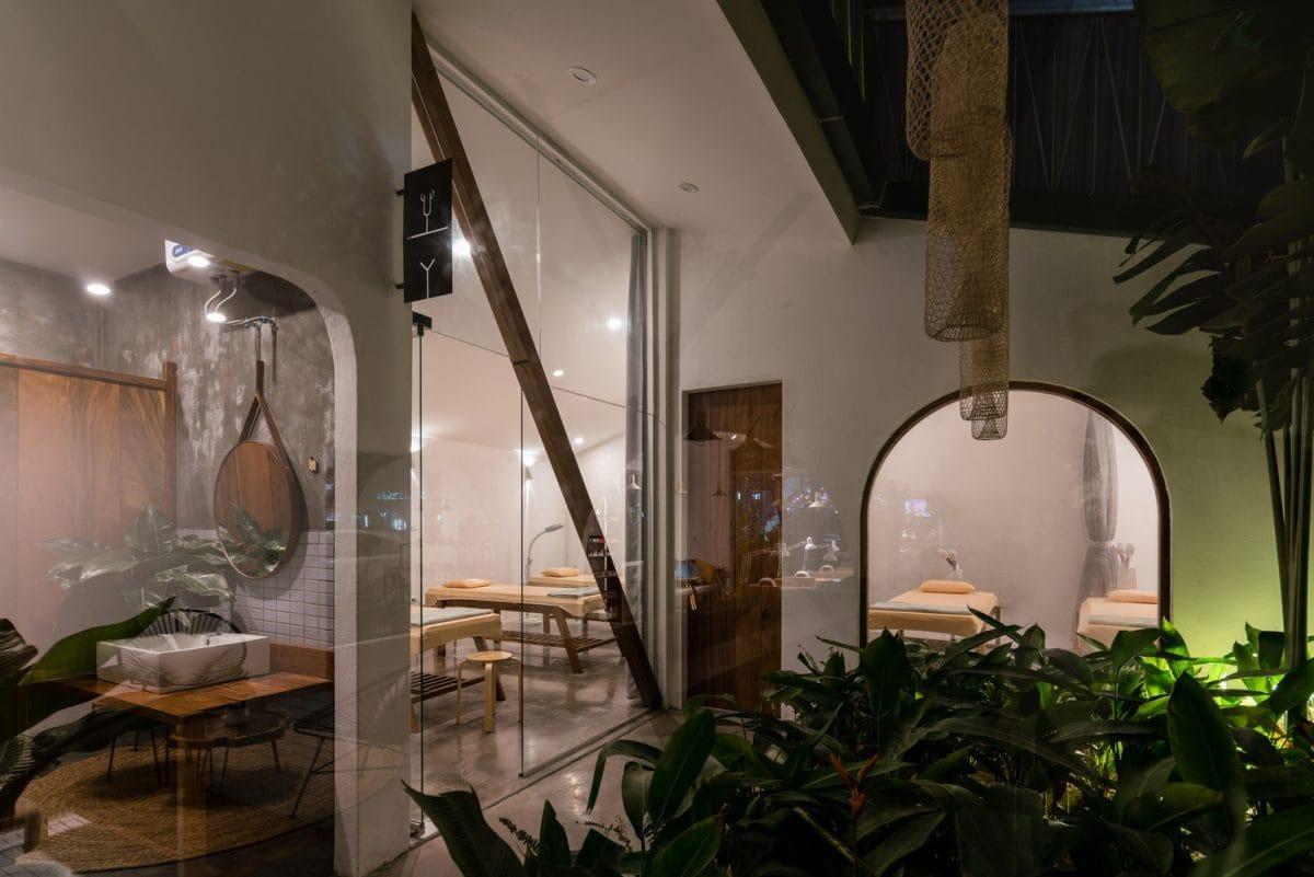 G21 Nail & Spa – Không gian làm đẹp với diện mạo độc đáo | Aline Architect