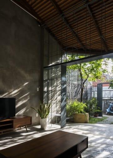 Ngôi nhà cấp 4 xanh mát giữa lòng Sài Gòn| 23o5 Studio